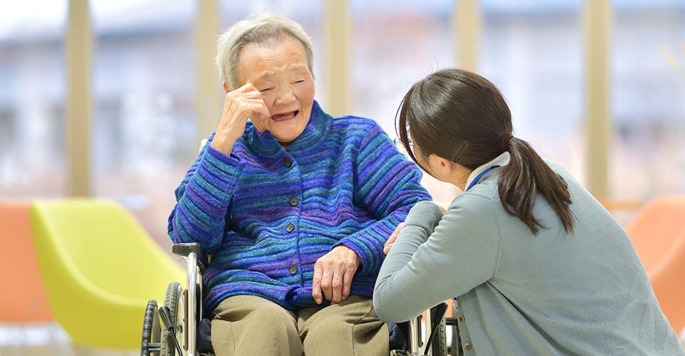 老人介護施設